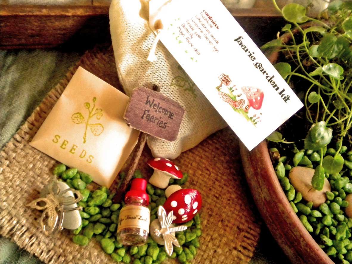 Faerie Garden Kit Elfin Trail