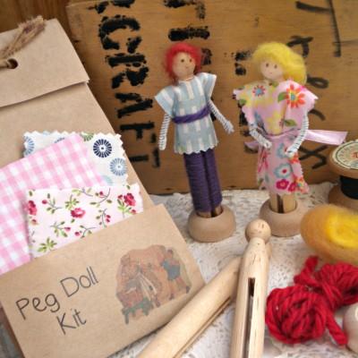 Peg Doll Kit